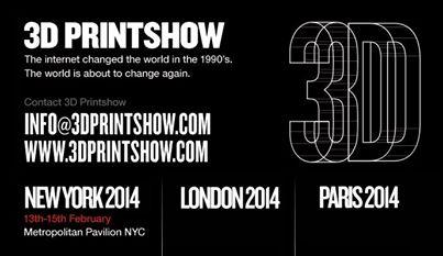 3D PRINTSHOW 2014)))  #The NEXT EVENTS