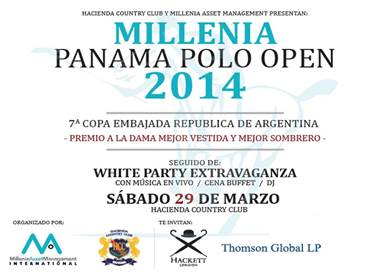 MILLENIA,PANAMA POLO OPEN 2014